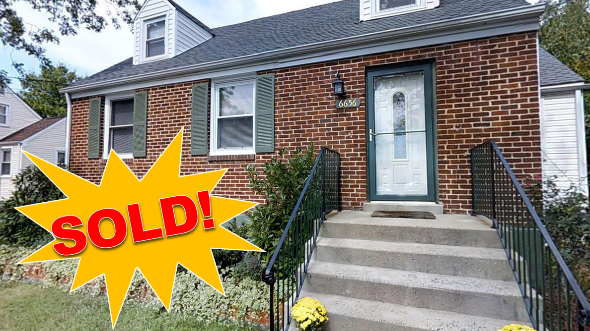 6656 Jefferson Avenue, Falls Church, VA Sold